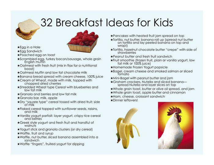 Healthy Breakfasts For Kids It S All About Balance